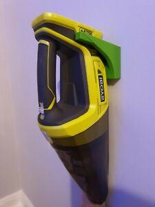 Green Wall holder mount RYOBI ONE+ R18HV-0 18V Vacuum