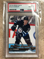 16-17 UD Upper Deck YG Young Guns Rookie RC #212 KYLE CONNOR Graded PSA 10