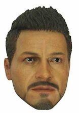 Hot Toys Iron Man 3 Tony Stark Head 1:6th Scale Accessory (No Neck Joint)