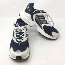 422b8fedbae VTG Nike 2003 Dad Shoes Cross Trainer Size 8.5 White Blue Running Sneakers  L3A