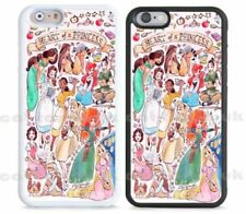 Disney Princess Glossy Mobile Phone Fitted Cases/Skins