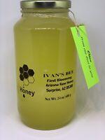 Raw Honey, Pure Honey, Olive Raw Honey, Arizona Local Honey, 24ozIVANs BEE LLC