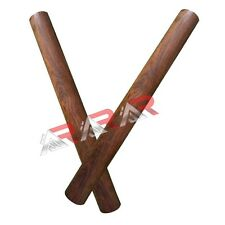 Brand New AAR Rose Wood Wooden Claves Wooden Rythm Stick Percussion Instruments