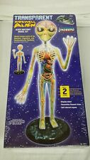 "Transparent Roswell Alien Model Kit Brand New Area 51 19"" Syfy Science lindberg"