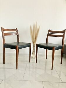 1 v 4 Stuhl Dining Chair Esszimmerstuhl Danish Design MID Century 50s 60s