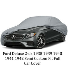 Ford Deluxe 2-dr 1938 1939 1940 1941 1942 Semi Custom Fit Full Car Cover