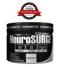 NEUROSURGE® 60 capsule astragalo-ashwagandha-schisandra-Rodiola- YAMAMOTO