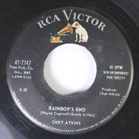 Rock 45 Wayne Cogswell-Buddy Killen - Rainbow'S End / Slinkey On Rca Victor