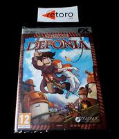 LA FUGA DE DEPONIA PC DVD Pal-España Español NUEVO Factory SEALED Precintado
