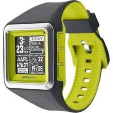 NEW Meta Watch LTD MW3006 Unisex Strata-Optic Green Iphone Android Smart Music
