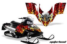 AMR Racing Sled Wrap Polaris Switchback Snowmobile Graphics Kit 06-10 MOTOHD RED