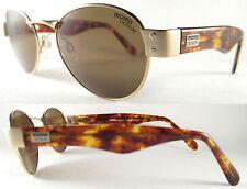 Stylish Momo Design unisex Sunglasses MS 14 02, oro/Brown, metal/Plastic