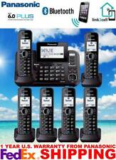 PANASONIC KX-TG9542B 2-LINE - LINK-TO-CELL USB MUSIC ON HOLD - 6 CORDLESS PHONES