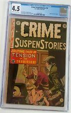 Crime SuspenStories #14 CGC Grade 4.5 E.C Comics, 12/1952-1/1953 Golden Horror