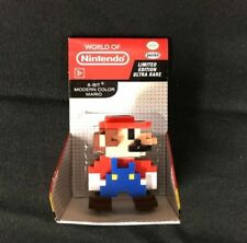 "Limited Edition Ultra Rare 2.5"" World of Nintendo 8-Bit Modern Color Mario New"