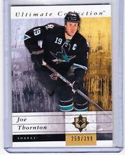 11-12 2011-12 ULTIMATE COLLECTION JOE THORNTON BASE CARD /399 51 SAN JOSE SHARKS
