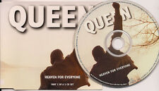 Queen Heaven For Everyone CD2 Tracks 2-4 are digitally remastered UK CD Single