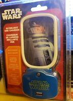 Disney - Star Wars - R2-D2 - Glowlight - USB Charger - Nightlight  Phone Plug
