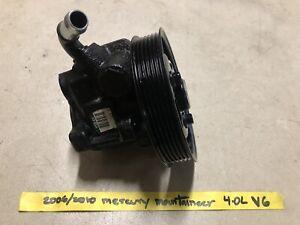 2006/2010 Mercury Mountaineer 4.0L Power Sterring Pump
