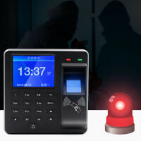 Fingerprint Access Control Intercom Machine Digital Electric RFID Code SystemSE