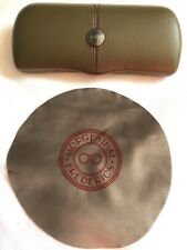 Morgenthal Fredericks Glasses sunglasses Case Spectacle Empty Cleaning Cloth NEW