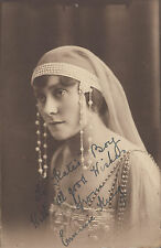Unused postcard signed by actress ~ Emmie King