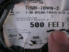AWM Style 1316-1408 THHN-THWN-2 19 Strand 500 FT 12 AWG Internal appliance wire