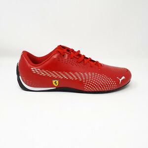 NEW Puma Ferrari SF Drift Cat 5 Ultra II Shoe Sneaker 306422 05 Red Mens Size 10