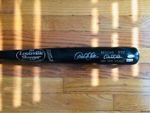 Derek Jeter Signed Autograph Baseball Bat, P72, Steiner COA