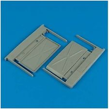 Quickboost 1/32 MiG-29A Fulcrum intake covers (A) for Trumpeter kits # 32088