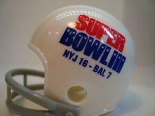 (1) New York Jets (Super Bowl III) Riddell Pocket Pro Football Helmet