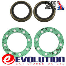 2 X REAR AXLE DANA TYPE HUB SEAL SHAFT GASKETS FITS FORD TRANSIT MK6 MK7