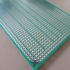 3stk pcb 8x11cm 3/5er Streifenraster Veroboard Lochraster Platine Leiterplatte