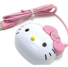 3D Hello Kitty Wired Mouse USB 2.0 Pro Gaming Mouse Optical Mice For Computer PC
