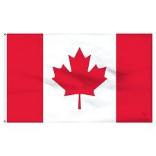 "12x18 12""x18"" Country of Canada Canadian Boat Flag banner nylon polyester"