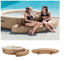 Strong Portable Intex PureSpa Inflatable Hot Tub Spa Bench Shaped Seat New