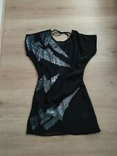 ASOS top dress Size 8 black cut out back cover up