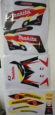 Mini Moto Minimoto Dirt Pit Bike ORION KXD Graphics decals Makita Suzuki 49cc