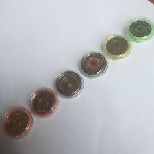 UNC Commemorative colour $2 Set 6X $2 Coins Custom Capsules low Mintage