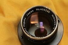 Nikon  rangefinder  NIKKOR-S  50mm f 1,4 for scientific instrument