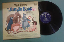 "Walt Disney's ""The jungle book"" LP GAT DISNEYLAND STORYTELLER GB 1967 VG+/VG+"