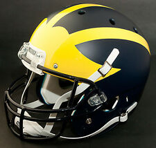 MICHIGAN WOLVERINES 2013 OUTBACK BOWL Schutt XP GAMEDAY Football Helmet (MATTE)