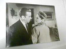 The Two Mrs. Carrolls (1947) Humphrey Bogart & Alexis Smith PROMO 14x11 Glossy