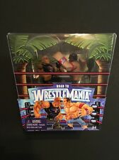 WWE WrestleMania 28 Rumblers The Rock vs John Cena Action Figures Rare MIB