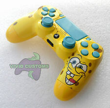 Custom Modified Playstation 4 Dualshock Wireless PS4 Controller - SpongeBob