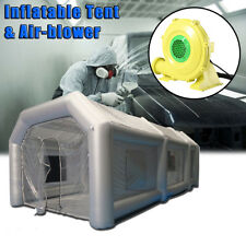26x13x10Ft Inflatable Spray Paint Booth Custom Tent Car+Filtration System+Blower
