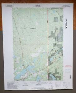 "Akeley, Minnesota Original Vintage 1996 USGS Topo Map 27"" x 22"""