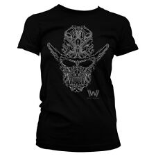 Officially Licensed Westworld Circuit Face Women's T-Shirt S-XXL Sizes