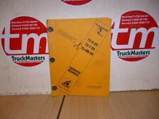 Sanderson Teleporter Forklift 622-725-5M26 Service Manual (PHOTOCOPY)