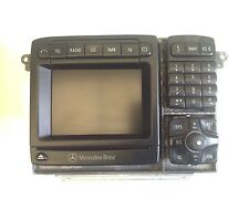 MERCEDES BENZ SAT NAV SATELLITE NAVIGATION COMAND 2.5E UNIT W220 S CLASS